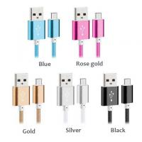 Buy cheap New Arrival Premium USB Data Cable Nylon Micro USB Charging Line for Android and iPhone from wholesalers