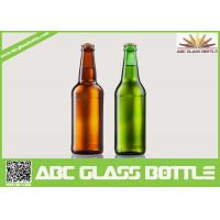Buy cheap Fancy Summer Promotion With Screw Top Beer Glass Bottles,Amber and Green beer from wholesalers