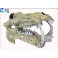 Buy cheap Animal Head Skeleton Cool Fish Tank Decorations Marine Custom Fish Tank Ornaments from wholesalers