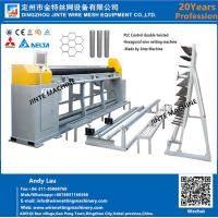 Buy cheap Automatic Hexagonal Wire Netting Machine Manufactured By Jinte wire mesh machinery from wholesalers