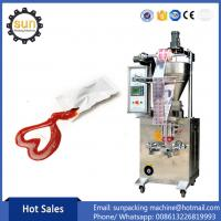 Buy cheap Automatic Vertical ketchup packaging machinery ketchup packing machine from wholesalers