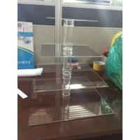 Buy cheap Small Plastic 4 Tier Acrylic Cupcake Stand For Wedding Decorative from wholesalers