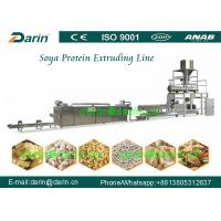 Buy cheap Twin screw extruder / Soya Extruder Machine with One year Guarantee from wholesalers