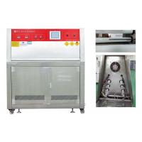 Buy cheap ISO 4892-3 UV Weathering Test Chamber Automatic Temperature Calibration/uv accelerated weathering tester from wholesalers