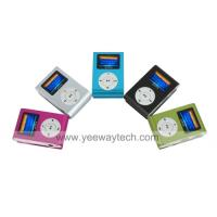 Buy cheap 4GB Fashion Deisgn OLED MP3 Player With FM Function /5 Colors Available from wholesalers