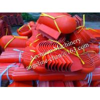 Buy cheap Plastic pvc new style glazed roof tile ridge end tiles product