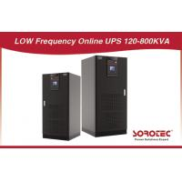 Buy cheap 12p / 6p, 160KVA  Low Frequency Online 3 - Phase Uninterrupted Power Supply from wholesalers