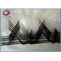 Buy cheap 2mm Thickness Razor Barbed Wire Spikes , Anti Climb Wall Spikes Security from wholesalers