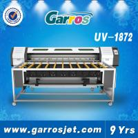 Buy cheap Roll to Roll UV Flatbed Printer Glass Poster Printing Machine from wholesalers