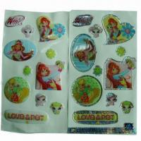 Buy cheap Butterfly Epoxy Sticker, Easy-to-apply and remove, Nontoxic, Used for Promotiona product