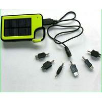Buy cheap Portable Solar Charger power Bank Solar cell phones charger for iphone/MP3/MP4/MP5/GPS/PSP from wholesalers