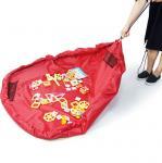 Buy cheap Kids playing mat Foldable Toy organizer storage bag drawstring from wholesalers