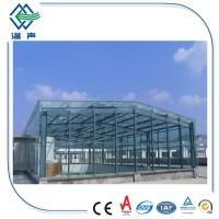 Buy cheap 10mm Extra clear glass for building , high transmittance low iron glass from wholesalers
