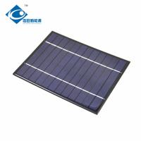 Buy cheap 2.95W 0.5A cheapest Residential Solar Power Panels For DIY ZW-170130 solar panel product