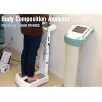Buy cheap Vertical Segment Human Body Composition Analyzer Equipment For Clinic Healthy Test from wholesalers
