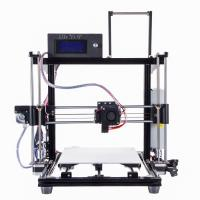 Buy cheap HIC Reprap Prusa I3 Large Scale 3d Printer , 1.75mm PLA Abs Filament 3d Printer With LCD Screen from wholesalers