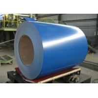 Buy cheap Color Galvalume Steel Coil Sheet , Hot Rolled Steel Strips Corrosion Resistance from wholesalers