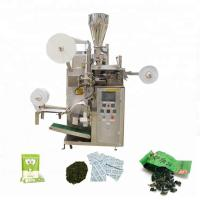 Buy cheap 30-60bags/min Small Scale Tea Bag Machine Used For Sealing Grain - Like Materials from wholesalers