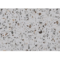 Buy cheap 300*300mm 800*800mm Terrazzo Ceramic Tile For Reception Desk Countertop product