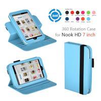 Buy cheap Universal Protective Nook Leather Case , Blue 7 Tablet Covers And Cases Rugged from wholesalers