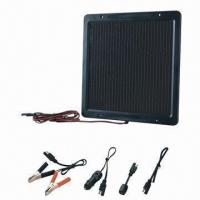 Buy cheap Portable solar charger/DIY/solar panel/trickle solar charger, 15W peak power from wholesalers