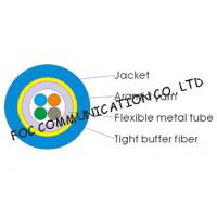 Buy cheap Multicore Optical Fiber Cable Armored Flexible and Suitable For Long Distance from wholesalers