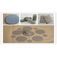 Buy cheap Stainless steel powder sintering filter filter tube filter plate filter from wholesalers