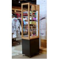 Buy cheap Free Standing Sunglasses Display Case Wood Acrylic Eyeglass Display Tower For Eyewear from wholesalers