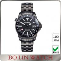 Buy cheap Milanese SS Mesh Strap Stainless Steel Dive Watch Automatic 3 Hands BGW9 Super Luminous from wholesalers