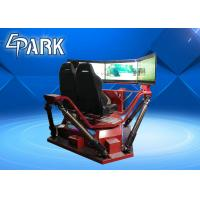 Buy cheap 2018 Popular Racing Motion Car 6 Dof 360 Degree High Speed 3 Screen Vr Car from wholesalers