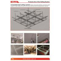 Buy cheap Suspending Drywall Ceiling Metal frame (Main channel, Furring channel,Wall angle) with ISO,ASTM,SONCAP from wholesalers