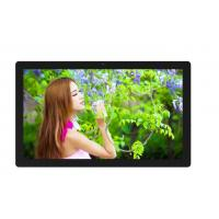 Buy cheap 250cm / D Wall Mounted Digital Signage For Restaurants , Plastic Case LCD AD Player from wholesalers