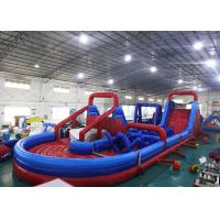 Buy cheap Inflatable Amusement Equipment, Inflatable Obstacle Course For Playground Games from wholesalers