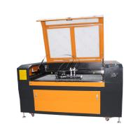 Buy cheap Low Cost 1300*90mm Steel Wood Acrylic Co2 Laser Cutting Machine with Double Heads from wholesalers