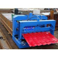 Buy cheap Waterproof Glazed Tile Roll Forming Machine 13 Rows 75mm Principal Axis Dia product