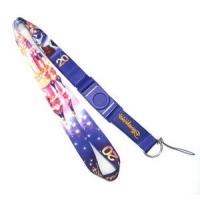 Buy cheap Screen Printed Cell Phone Neck Strap Lanyards 25MM Width With Disney Logo from wholesalers