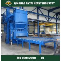 Buy cheap H beam steel roller conveyor shot blasting machine for removing rust from wholesalers