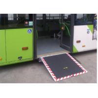 Buy cheap Electric Steel Disabled Wheelchair Ramp Extant Steadily For City Pubilic Bus from wholesalers