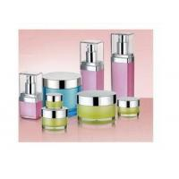 Buy cheap Round  Acrylic Lotion Bottle and Square Acrylic Cream Jar from wholesalers