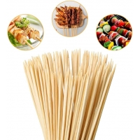 Buy cheap Natural Roasting Bamboo 4mm Flat BBQ Skewers from wholesalers