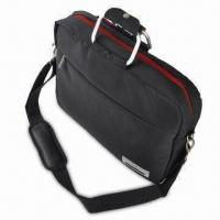 Buy cheap Top-loading Black Nylon Bag for 15 to 16 Inches, with Aluminum Handles from wholesalers