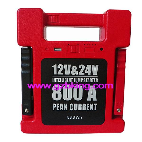 Buy cheap 24000mAh 12V & 24V Intelligent Jump Starter from wholesalers