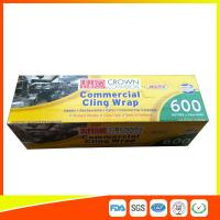 Buy cheap Commercial Wrapping Catering Cling Film 45cm Roll / Cooking Film Wrap For Kitchen from wholesalers