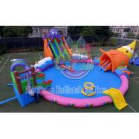 Buy cheap 18M Octopus Inflatable Water Park Sports Deisgn Build Portable CE 14960 from wholesalers