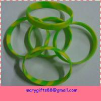 Buy cheap Eco-friendly Cool Colorful Silicone Wristbands Free Samples For Testing from wholesalers