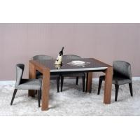 Buy cheap Modern Dining Room Furniture,Walnut Wood Dining Table from wholesalers