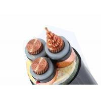 Buy cheap 3C 240sqmm 33kV XLPE Insulated Power Cable 240mm2 Mid Voltage IEC60502-2 from wholesalers