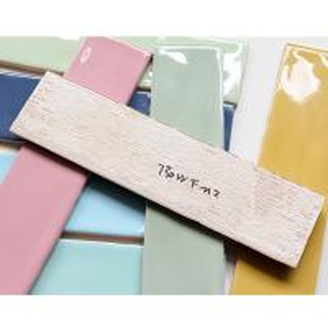 Buy cheap Handmade Ceramic Wall Tiles Macarons Series Bread Look Edge Wear Resistant product