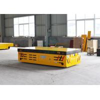 Buy cheap Battery operated transport cart for plastic mold handling from one bay to another from wholesalers