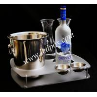 Buy cheap Grey Goose Bucket & Bottle Serving Tray from wholesalers
